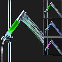 SDS-A13 vezetett zuhany három színhőmérséklet hőmérséklet szabályozás zuhanyrózsa (absz galvanizálás)