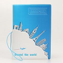 Geantă Pașaport & ID Husă Pasaport Impermeabil Portabil Rezistent la Praf Depozitare Călătorie pentru Impermeabil Portabil Rezistent la