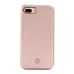 For iPhone 7 etui iPhone 6 etui iPhone 5 etui Etuier LED Bagcover Etui Helfarve Hårdt PC for AppleiPhone 7 Plus iPhone 7 iPhone 6s Plus