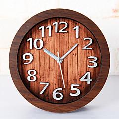 행복 선물 고품질 mitation 나무 색 복고풍 유럽 스타일의 나무 시계