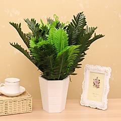 1 1 Κλαδί Μετάξι Φυτά Λουλούδι για Τραπέζι Ψεύτικα λουλούδια 45CM