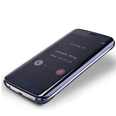 Varten Samsung Galaxy Note Pinnoitus / Flip / Läpinäkyvä Etui Kokonaan peittävä Etui Yksivärinen PC Samsung Note 5