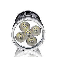 LED Lommelygter LED 3000 Lumen 3 Tilstand LED 18650 Vandtæt Super let Højstyrke Dæmpbar Camping/Vandring/Grotte Udforskning Dagligdags