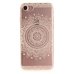Kompatibilitás iPhone X iPhone 8 iPhone 7 iPhone 6 tokok IMD Hátlap Case Mandala Puha Hőre lágyuló poliuretán mert Apple iPhone X iPhone