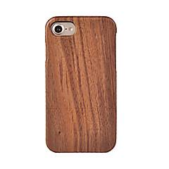 Για Προστασία από τη σκόνη tok Πίσω Κάλυμμα tok Νερά ξύλου Σκληρή Ξύλο για AppleiPhone 7 Plus / iPhone 7 / iPhone 6s Plus/6 Plus / iPhone