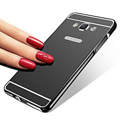 Mert Samsung Galaxy tok Galvanizálás / Tükör Case Hátlap Case Egyszínű Akril Samsung A7(2016) / A5(2016) / A3(2016) / A9 / A5