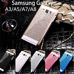 Mert Samsung Galaxy tok Other Case Teljes védelem Case Csillámpor PC Samsung A8 / A7 / A5 / A3