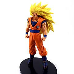 Anime Aksiyon figürleri Esinlenen Dragon Ball Goku Anime Cosplay Aksesuarları şekil Turuncu PVC