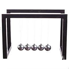 Speeltjes voor Jongens Ontdekkingsspeelgoed Newton cradle balansballen Vierkant Metaal