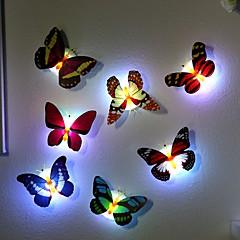 7 색상 변경 나비 야간 조명 램프를 주도