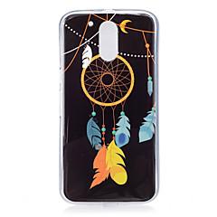 Mert Foszforeszkáló / Minta Case Hátlap Case Álomvadász Puha TPU mert Motorola MOTO G4