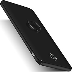 Voor met standaard Ringhouder Mat hoesje Achterkantje hoesje Effen kleur Hard PC voor OnePlus One Plus 3 One Plus 3T