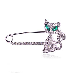 Damskie Broszki Modny luksusowa biżuteria biżuteria kostiumowa Imitacja diamentu Biżuteria Na Codzienny Casual