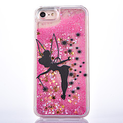 Voor iPhone 8 iPhone 8 Plus iPhone 7 iPhone 6 iPhone 5 hoesje Hoesje cover Stromende vloeistof Patroon Achterkantje hoesje Glitterglans