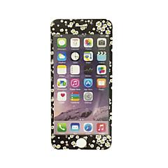 Apple iPhone 6 / 6s 4,7 hüvelykes edzett üveg puha él teljes képernyős lefedettség elülső képernyő védő virágmintás