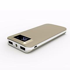 10000mAh φορητή LCD qc3.0 τράπεζα δύναμης κινητών τηλεφώνων και tablet εξωτερική εφεδρική μπαταρία φορτιστή μπαταρίας διπλή usb POWERBANK