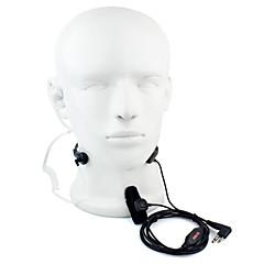 2 pini GDA gât cu cască microfon walkie talkie tub acustic sub acoperire pentru motorola GP88 GP300 GP2000 HYT tc-500s