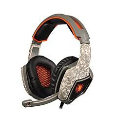 sades sa-918 professzionális játék fejhallgató surround sztereó fejhallgató USB csatlakozó mikrofon pc laptop