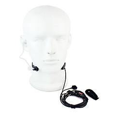 torok mikrofon PTT headset walkie-talkie rejtett akusztikus cső Kenwood Baofeng 365 Wanhua tyt HYT