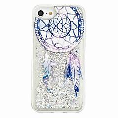 Til iPhone X iPhone 8 Etuier Flydende væske Mønster Bagcover Etui Glitterskin Drømme fanger Blødt TPU for Apple iPhone X iPhone 8 Plus