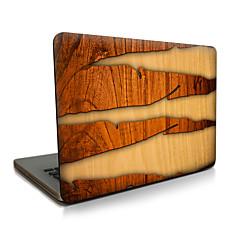 macbook lucht 11 13 / pro13 15 / pro met retina13 15 / macbook12 houtnerf scheuren beschreven appellaptop case