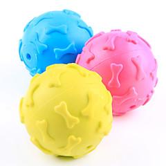 Zabawka dla psa Zabawki dla zwierząt Owalne Zabawki do żucia Pisk Kość