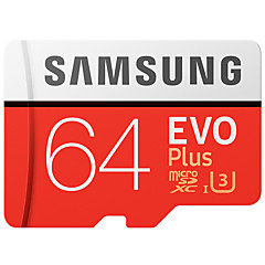 samsung 64GB micro sd kártya tf memóriakártya UHS-I U3 Class10 evo plus 100MB / s