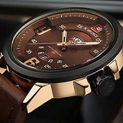 NAVIFORCE Masculino Relógio Esportivo Relógio Militar Relógio de Moda Relógio de Pulso Único Criativo relógio Relógio Casual Japanês