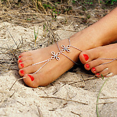 Dame Brățară Gleznă/Brățări Aliaj Design Unic La modă stil minimalist European costum de bijuterii Bijuterii Bijuterii Pentru Zilnic
