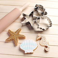 bakvorm cartoon Shaped Dier Ster voor Cake voor Chocolade voor Brood voor Cookie voor Cupcake RVSDoe-het-zelf 3D Hoge kwaliteit