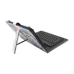 Til Etuier Med stativ Med keyboard Flip Mønster Heldækkende Etui Drømme fanger Hårdt Kunstlæder for AppleIPad pro 10.5 iPad (2017) iPad