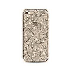 Obudowa dla telefonu iphone 7 plus 7 pokrowiec przezroczysty wzór obudowa tylna obudowa miękka tpu dla iphone 6s plus 6 plus 6s 6 se 5s 5c