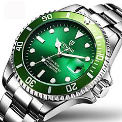 Ανδρικά Ρολόι Φορέματος Μοδάτο Ρολόι Ρολόι Καρπού μηχανικό ρολόι Αυτόματο κούρδισμα Ημερολόγιο Ανθεκτικό στο Νερό Φωτίζει Ανοξείδωτο