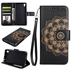 Hoesje voor Sony Xperia xp xa hoesje cover het mandala patroon pu lederen hoesjes voor Sony Xperia xa1 xa1 Ultra Z5