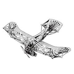 Kit Lucru Manual Puzzle 3D Puzzle Puzzle Metal Jucarii Aeronavă 3D Reparații Articole de mobilier Ne Specificat Bucăți