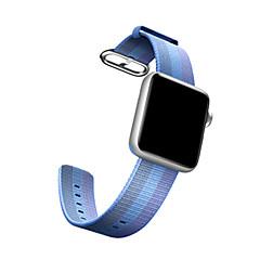 Banda de relogio para relógio de maçã Real tecido de nylon pulseira esporte pulseira pulseira 38mm 42mm