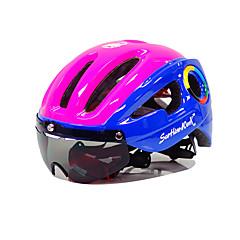 Unisex Bisiklet Kask 10 Delikler Bisiklet Dağ Bisikletçiliği Yol Bisikletçiliği Bisiklete biniciliği Bisiklete biniciliği/BisikletTek