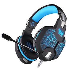 KOTION EACH G1100 Opaska na głowę Przewodowy/a Słuchawki Dynamiczny Rozrywka Słuchawka z mikrofonem Świecący Zestaw słuchawkowy