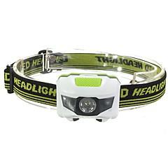 Hoofdlampen LED 500 Lumens 3 Modus LED Batterijen niet inbegrepen Alarm Stofbestendig Lichtgewicht voor Kamperen/wandelen/grotten
