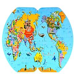 Holzpuzzle Oval Kinder Unisex