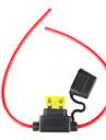 porte-fusible avec fil, 12v 20a