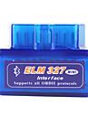 Ferramenta de Interface de diagnostico Para Carro Mini ELM327 OBD2 V1.5 Sem Fio - Azul