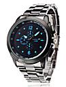 Men\'s Business Style Silver Alloy Quartz Wrist Watch (Assorted Colors) Cool Watch Unique Watch Fashion Watch