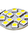 3W G4 LED à Double Broches 12 SMD 5050 50 lm Blanc Naturel DC 12 V