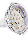 2W GU5.3 LED Spotlight MR16 15 SMD 2835 150-200 lm Warm White DC 12 V