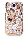Luxury Sachet Jewel Back Case for Samsung Galaxy S4 I9500