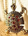 Женский Ожерелья с подвесками Медь Стразы Мода Бижутерия Повседневные 1шт