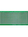 PCB 프로토 타입 빈 PCB 2 개의 층 두 배 측 3 × 7cm의 프로토 - 녹색