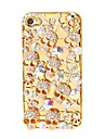 Cranio do metal Padrao chapeamento para iPhone 4/4S