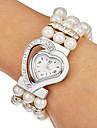 여성의 디아 망테 심장 밴드 석영 아날로그 팔찌 시계 (분류 된 색깔)를 다이얼